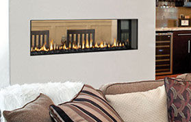 Patio Shop - Fireplace Center | Fireplaces | Hearthstone Aurora Linear Direct Vent Gas Fireplace