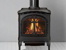 Patio Shop - Center | Fireplaces | Heat n' Glo Fireplaces| Tiara Direct Vent Gas Stove