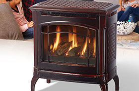Patio Shop - Fireplace Center | Fireplaces | Hearthstone Champlain Gas Stove