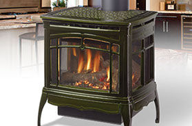 Patio Shop - Fireplace Center | Fireplaces | Hearthstone Bristol DX Gas Stove