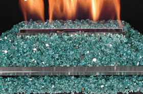 Patio Shop - Fireplace Center | Fireplaces | Rasmussen Gas Logs | Rasmussen Alterna Glitter