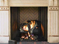 Patio Shop - Fireplace Center | Fireplaces | Heat n' Glo Fireplaces| Rutherford Wood Burning Fireplace
