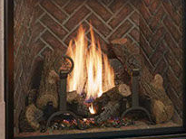 Patio Shop - Center | Fireplaces | Xtrordinair 4237 Clean Face Direct Vent Gas Fireplace