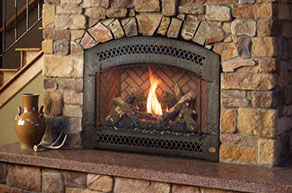 Patio Shop - Fireplace Center | Fireplaces | Xtrordinair Greensmart Gas Fireplace