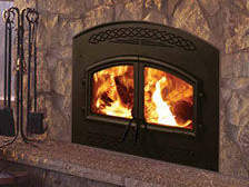 Patio Shop - Fireplace Center | Fireplaces | Heatilator Constitution Wood Burning Fireplace
