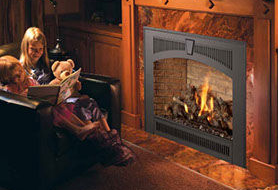 Patio Shop - Fireplace Center | Fireplaces | Lopi Direct Vent Gas Fireplace