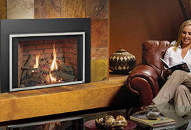 Patio Shop - Fireplace Center | Fireplaces | Lopi Gas Fireplace Inserts