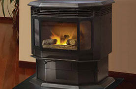 Patio Shop - Fireplace Center | Fireplaces | Quadra-Fire Fireplace Products | Classic Bay 1200 Gas Fireplace Stove