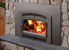 Patio Shop - Fireplace Center | Fireplaces | Xtrordinair Flush Wood Burning Fireplace Inserts