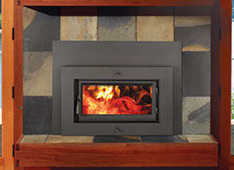 Patio Shop - Fireplace Center | Fireplaces | Xtrordinair Flush Wood Burn Plus Fireplace Insert