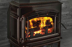 Patio Shop - Fireplace Center | Quadra-Fire Fireplaces | Cast Wood Burning Stove