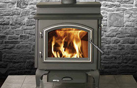 Patio Shop - Fireplace Center | Quadra-Fire Fireplaces | 4300 Step-Top Wood Burning Stove