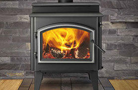 Patio Shop - Fireplace Center | Quadra-Fire Fireplaces | 5700 Step-Top Wood Burning Stove