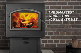 Patio Shop - Fireplace Center | Quadra-Fire Fireplaces | Adventure Wood Burning Stove