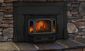 Patio Shop - Fireplace Center | Fireplaces | Quadra-Fire Fireplace Products | 4100i Wood Burning Fireplace Insert