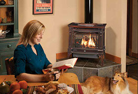 Patio Shop - Fireplace Center | Fireplaces | Lopi Cast Iron Gas Stove