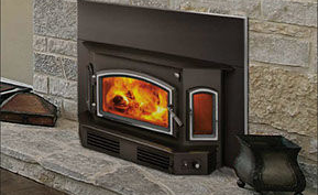 Patio Shop - Fireplace Center | Fireplaces | Quadra-Fire Fireplace Products | 5100i Wood Burning Fireplace Insert