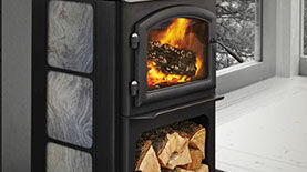 Patio Shop - Fireplace Center | Quadra-Fire Fireplaces | Discovery Series Wood Burning Stove