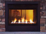 Patio Shop - Fireplace Center | Fireplaces | Heatilator Twilight Direct Vent Outdoor Gas Fireplace