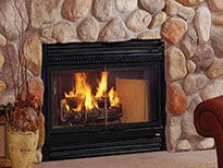 Patio Shop - Fireplace Center | Fireplaces | Heatilator SC60 Wood Burning Fireplace