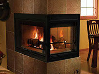 Patio Shop - Fireplace Center | Fireplaces | Heatilator Multi-Sided Wood Burning Fireplace