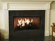 Patio Shop - Fireplace Center | Fireplaces | Heatilator Element Wood Burning Fireplace