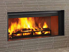 Patio Shop - Fireplace Center | Fireplaces | Heatilator Longmire Linear Wood Burning Fireplace