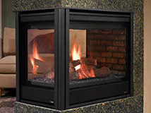 Patio Shop - Fireplace Center | Fireplaces | Heatilator Multi-Sided Direct Vent & B Vent Gas Fireplace