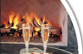 Patio Shop - Fireplace Center | Fireplaces | Rasmussen Gas Logs | Rasmussen Vented Gas Logs