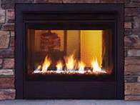 Patio Shop - Fireplace Center | Fireplaces | Heatilator Twilight Modern Direct Vent Gas Fireplace