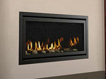 Patio Shop - Fireplace Center | Fireplaces | Heatilator Rave Direct Vent Gas Fireplace
