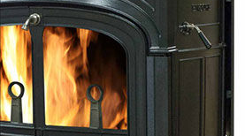 Patio Shop - Fireplace Center | Vermont Castings Fireplaces | Defiant & Encore Flexburn Wood Burning Stove