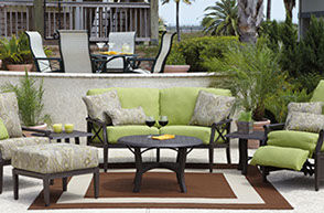 Patio Shop - Fireplace Center | Patio Furniture | Woodard Patio Furniture | Aluminum Collections | Andover