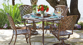 Patio Shop - Fireplace Center | Patio Furniture | Woodard Patio Furniture | Woven Collection