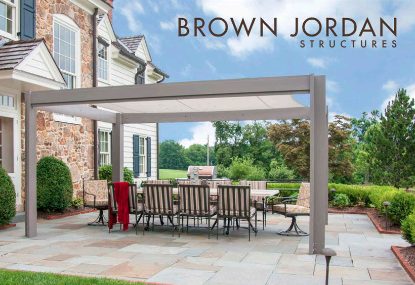 Patio Shop - Fireplace Center | Patio Furniture | Brown Jordan Patio Decor and Accessories | Outdoor Structure Collection