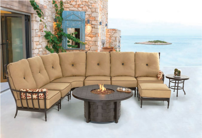 Patio Shop - Fireplace Center | Patio Furniture | Pride-Castelle Patio Furniture | Sectionals Provence