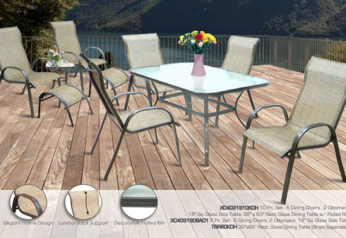 Patio Shop - Fireplace Center | Patio Furniture | Pride-Castelle Patio Furniture | Collection Riviera Summer Winds