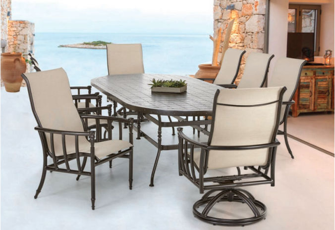 Patio Shop - Fireplace Center | Patio Furniture | Pride-Castelle Patio Furniture | Cushion & Sling Provence