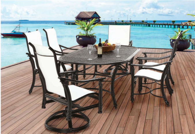 Patio Shop - Fireplace Center | Patio Furniture | Pride-Castelle Patio Furniture | Cushion & Deep Coco Isle