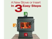 Patio Shop - Fireplace Center | Fireplaces | Heatilator ECO Choice Wood Stoves