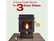 Patio Shop - Fireplace Center | Fireplaces | Heatilator ECO Choice Pellet Stoves