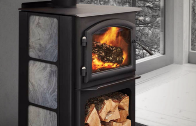 Patio Shop - Fireplace Center | Fireplaces | Quadra-Fire Fireplace Products | Quadra-Fire Discovery Wood Burning Fireplace Stove