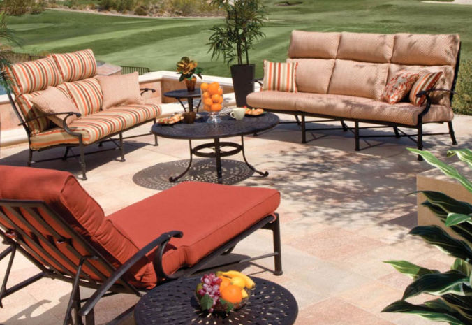 Patio Shop - Fireplace Center | Patio Furniture | Winston Patio Furniture | Cushion Collections Manor Deep Seating