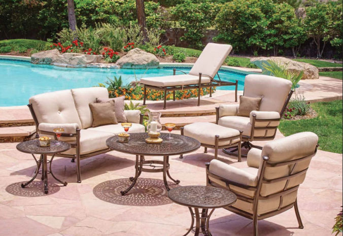 Patio Shop - Fireplace Center | Patio Furniture | Winston Patio Furniture | Cushion Collections Catania