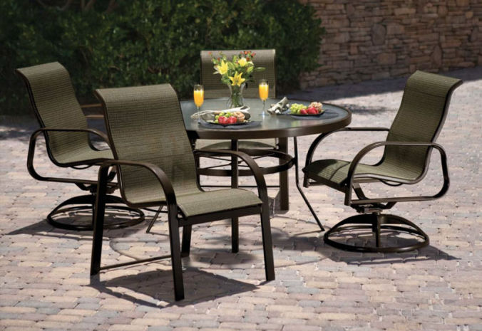 Patio Shop - Fireplace Center | Patio Furniture | Winston Patio Furniture | Sling Collections Seagrove II