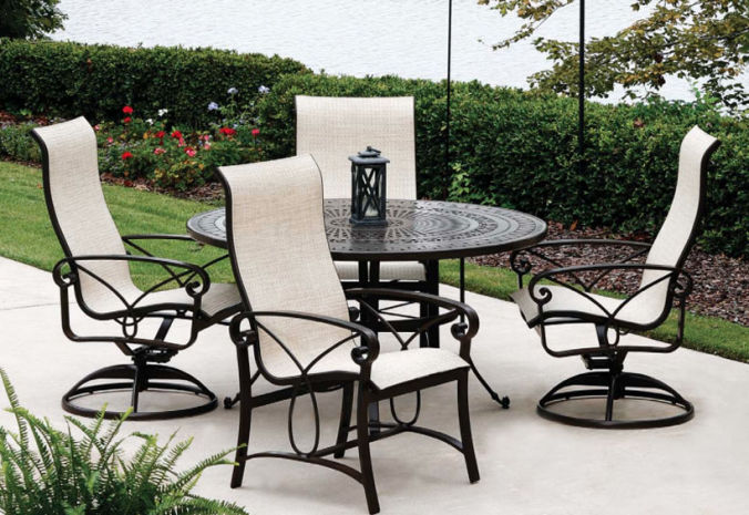 Patio Shop - Fireplace Center | Patio Furniture | Winston Patio Furniture | Sling Collections Palazzo
